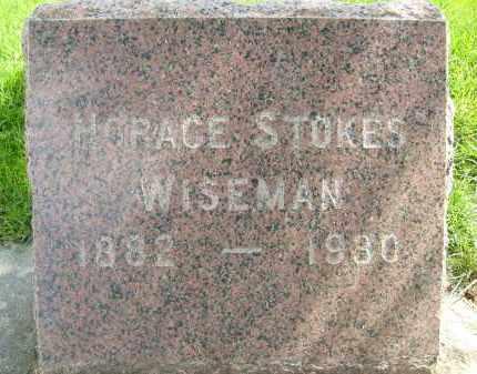 WISEMAN, HORACE STOKES - Boulder County, Colorado   HORACE STOKES WISEMAN - Colorado Gravestone Photos