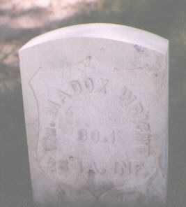 WRIGHT, WILLIAM MADDOX - Boulder County, Colorado | WILLIAM MADDOX WRIGHT - Colorado Gravestone Photos
