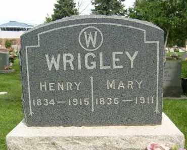 WRIGLEY, HENRY - Boulder County, Colorado | HENRY WRIGLEY - Colorado Gravestone Photos