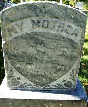 YATES, MARY - Boulder County, Colorado | MARY YATES - Colorado Gravestone Photos