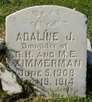 ZIMMERMAN, ADALINE J. - Boulder County, Colorado | ADALINE J. ZIMMERMAN - Colorado Gravestone Photos