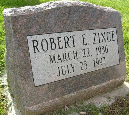 ZINGE, ROBERT E. - Boulder County, Colorado | ROBERT E. ZINGE - Colorado Gravestone Photos