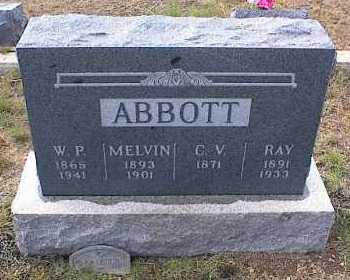 ABBOTT, C. V. - Chaffee County, Colorado   C. V. ABBOTT - Colorado Gravestone Photos