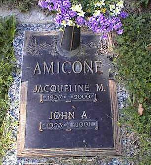 AMICONE, JACQUELINE M. - Chaffee County, Colorado | JACQUELINE M. AMICONE - Colorado Gravestone Photos
