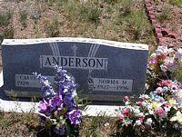 ANDERSON, CALVIN - Chaffee County, Colorado | CALVIN ANDERSON - Colorado Gravestone Photos