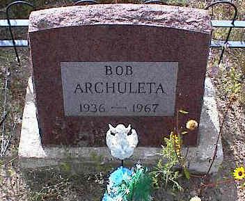 ARCHULETA, BOB - Chaffee County, Colorado | BOB ARCHULETA - Colorado Gravestone Photos
