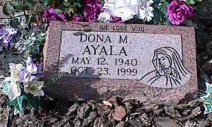 AYALA, DONA M. - Chaffee County, Colorado   DONA M. AYALA - Colorado Gravestone Photos