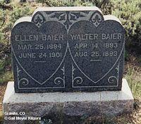 BAIER, WALTER - Chaffee County, Colorado | WALTER BAIER - Colorado Gravestone Photos