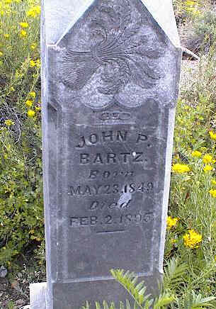 BARTZ, JOHN P. - Chaffee County, Colorado | JOHN P. BARTZ - Colorado Gravestone Photos