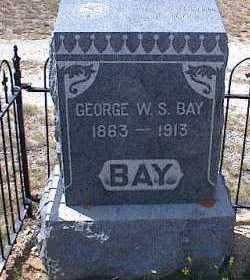 BAY, GEORGE W. S. - Chaffee County, Colorado | GEORGE W. S. BAY - Colorado Gravestone Photos