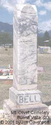 BELL, WILLIAM E. - Chaffee County, Colorado | WILLIAM E. BELL - Colorado Gravestone Photos