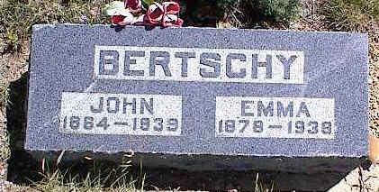 BERTSCHY, EMMA ANASTIA - Chaffee County, Colorado | EMMA ANASTIA BERTSCHY - Colorado Gravestone Photos