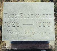 BLACKMORE, THOMAS - Chaffee County, Colorado | THOMAS BLACKMORE - Colorado Gravestone Photos