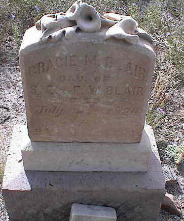 BLAIR, GRACIE M. - Chaffee County, Colorado | GRACIE M. BLAIR - Colorado Gravestone Photos