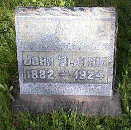 BLATNIK, JOHN - Chaffee County, Colorado | JOHN BLATNIK - Colorado Gravestone Photos