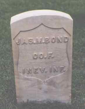 BOND, JAS. M. - Chaffee County, Colorado   JAS. M. BOND - Colorado Gravestone Photos