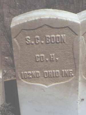 BOON, S. G. - Chaffee County, Colorado | S. G. BOON - Colorado Gravestone Photos