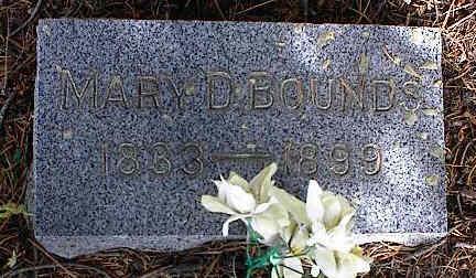 BOUNDS, MARY D. - Chaffee County, Colorado | MARY D. BOUNDS - Colorado Gravestone Photos