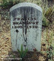BRADBURY, FRANCIS - Chaffee County, Colorado | FRANCIS BRADBURY - Colorado Gravestone Photos