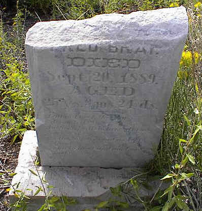 BRAY, FRED ? - Chaffee County, Colorado   FRED ? BRAY - Colorado Gravestone Photos