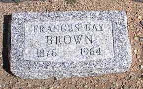 BROWN, FRANCES - Chaffee County, Colorado | FRANCES BROWN - Colorado Gravestone Photos