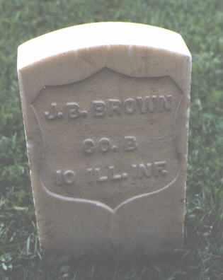 BROWN, J. B. - Chaffee County, Colorado | J. B. BROWN - Colorado Gravestone Photos