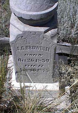 BROWNLEE, A. C. - Chaffee County, Colorado | A. C. BROWNLEE - Colorado Gravestone Photos