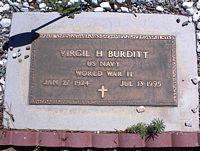 BURDITT, VIRGIL H. - Chaffee County, Colorado | VIRGIL H. BURDITT - Colorado Gravestone Photos