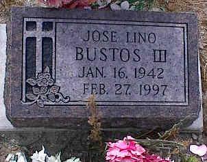 BUSTOS, JOSE LINO III - Chaffee County, Colorado   JOSE LINO III BUSTOS - Colorado Gravestone Photos