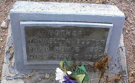 BUSTOS, NANNELITA - Chaffee County, Colorado | NANNELITA BUSTOS - Colorado Gravestone Photos
