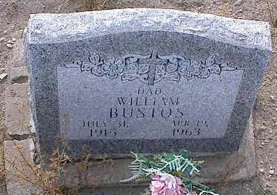 BUSTOS, WILLIAM - Chaffee County, Colorado | WILLIAM BUSTOS - Colorado Gravestone Photos