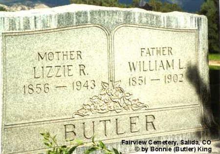 BUTLER, WILLIAM L. - Chaffee County, Colorado | WILLIAM L. BUTLER - Colorado Gravestone Photos