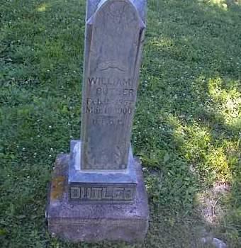 BUTLER, WM - Chaffee County, Colorado | WM BUTLER - Colorado Gravestone Photos