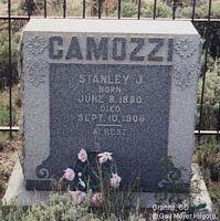 CAMOZZI, STANLEY J. - Chaffee County, Colorado | STANLEY J. CAMOZZI - Colorado Gravestone Photos