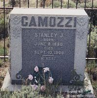 CAMOZZI, STANLEY J. - Chaffee County, Colorado | STANLEY J. CAMOZZI - Colorado Gravestone Photos