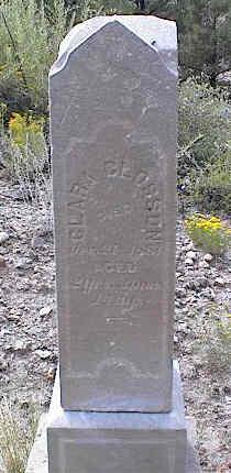 CLOSSON, CLARA - Chaffee County, Colorado | CLARA CLOSSON - Colorado Gravestone Photos
