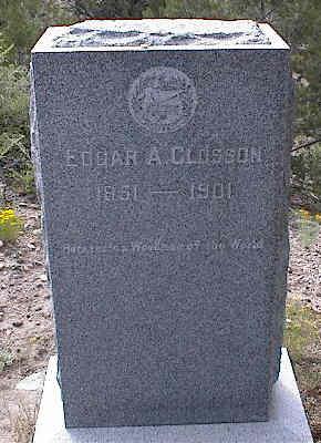CLOSSON, EDGAR A. - Chaffee County, Colorado | EDGAR A. CLOSSON - Colorado Gravestone Photos