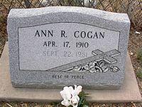 COGAN, ANN R. - Chaffee County, Colorado | ANN R. COGAN - Colorado Gravestone Photos