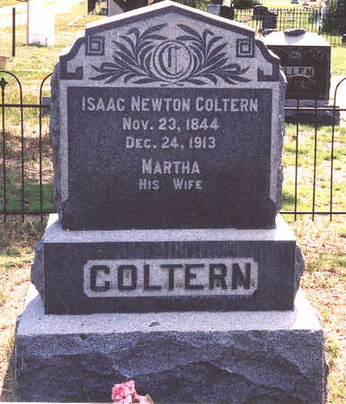 COLTERN, ISAAC NEWTON - Chaffee County, Colorado | ISAAC NEWTON COLTERN - Colorado Gravestone Photos