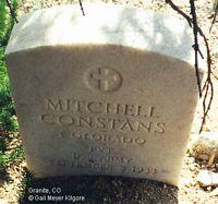 CONSTANS, MITCHELL - Chaffee County, Colorado | MITCHELL CONSTANS - Colorado Gravestone Photos