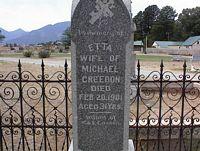 CREEDON, ETTA - Chaffee County, Colorado   ETTA CREEDON - Colorado Gravestone Photos