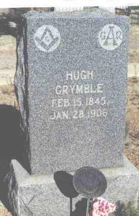 CRYMBLE, HUGH - Chaffee County, Colorado   HUGH CRYMBLE - Colorado Gravestone Photos