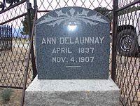 DELAUNNAY, ANN - Chaffee County, Colorado | ANN DELAUNNAY - Colorado Gravestone Photos