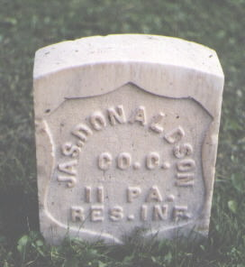 DONALDSON, JAS. - Chaffee County, Colorado | JAS. DONALDSON - Colorado Gravestone Photos