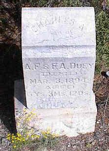 DUEY, CHARLES A. - Chaffee County, Colorado | CHARLES A. DUEY - Colorado Gravestone Photos