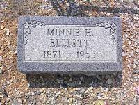 HAWKINS ELLIOTT, MINNIE - Chaffee County, Colorado | MINNIE HAWKINS ELLIOTT - Colorado Gravestone Photos