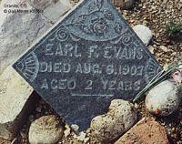 EVANS, EARL F. - Chaffee County, Colorado | EARL F. EVANS - Colorado Gravestone Photos
