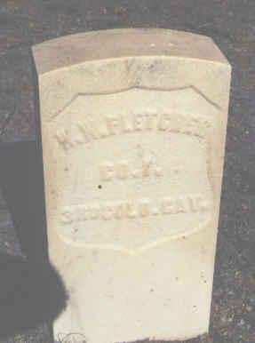 FLETCHER, W. W. - Chaffee County, Colorado | W. W. FLETCHER - Colorado Gravestone Photos