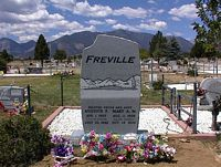 FREVILLE, AUGUSTE PAUL - Chaffee County, Colorado | AUGUSTE PAUL FREVILLE - Colorado Gravestone Photos