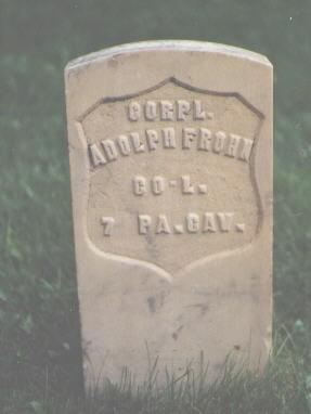 FROHN, ADOLPH - Chaffee County, Colorado | ADOLPH FROHN - Colorado Gravestone Photos